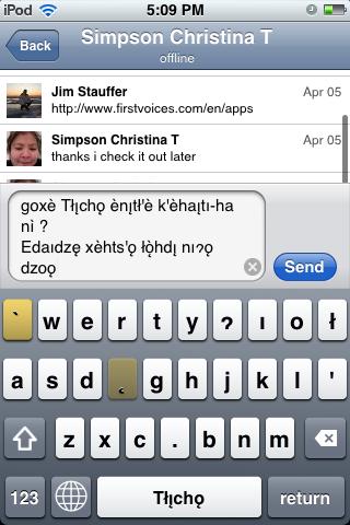 FirstVoices screenshot